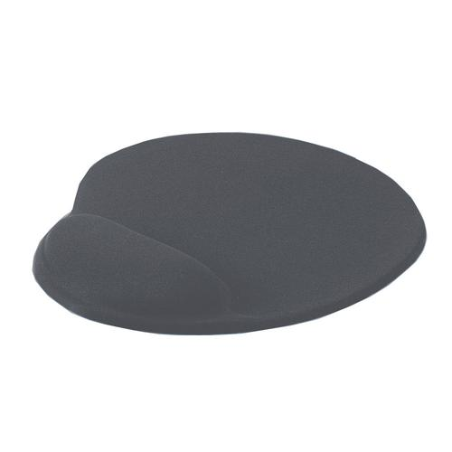 Value Mouse Pad with Gel Wrist Rest Grey