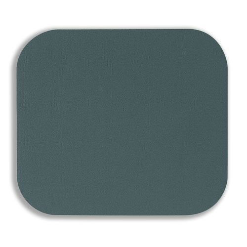 Fellowes Solid Colour Mouse Pad Silver 58023-06