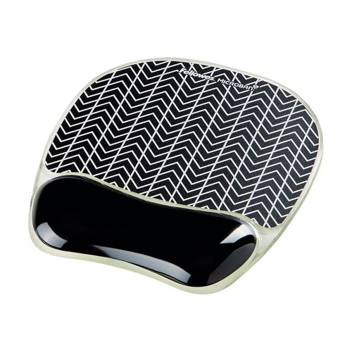 Fellowes Photo Gel Mouse Pad Chevron 9653401