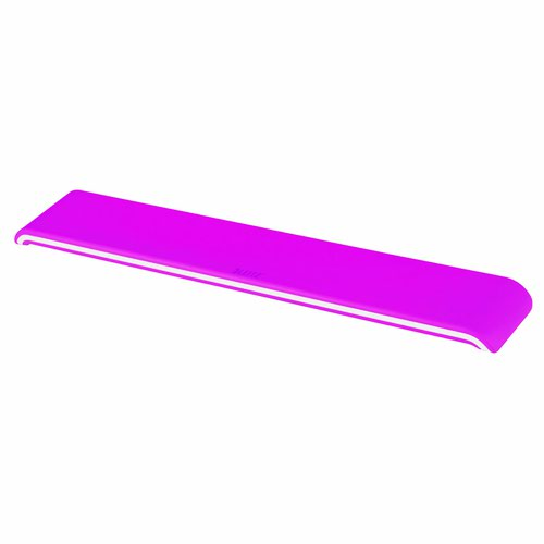 Leitz Ergo WOW Adjustable Keyboard Wrist Rest Pink 65230023