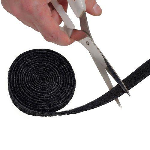 D-Line Cable Tidy Band 1.2m Black CTTAPE1.2B