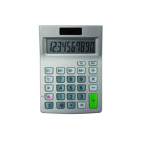 Value Calculator 10 Digit Dual Power Semi Desk