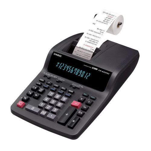 Casio Printing Calculator FR-620RE-B-UC