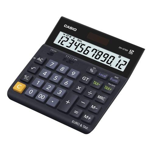 Casio Large Desk Calculator 12 Digit White DH-12TER