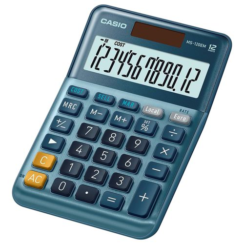 Casio Large Desk Calculator MS-120EM
