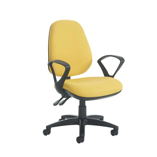Jota High Back Asynchro Operator Chair Fixed Arms JH43-000