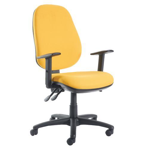 Jota High Back Asynchro Operator Chair Adjustable Arms JH44-000