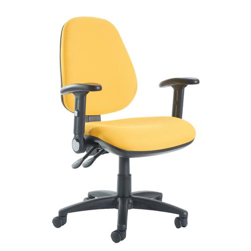 Jota High Back Asynchro Operator Chair Folding Arms JH46-000