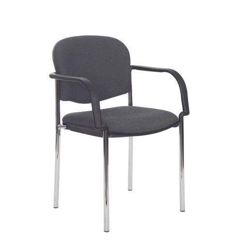 Coda Multipurpose Stacking Chair Fixed Arms COD101H