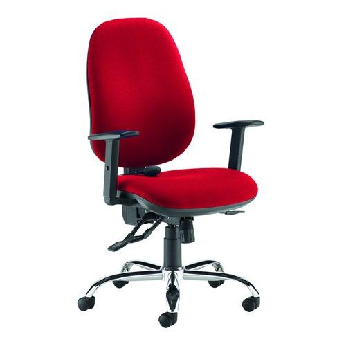 Jota Ergo Extra High Back Chair Red JXERGOB-RED