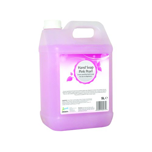 Value Pink Pearl Hand Soap 5 Litre