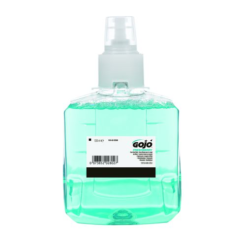 GOJO LTX-12 Freshberry Foam Hand Soap Refill 1200ml (2) 1916-02-EEU