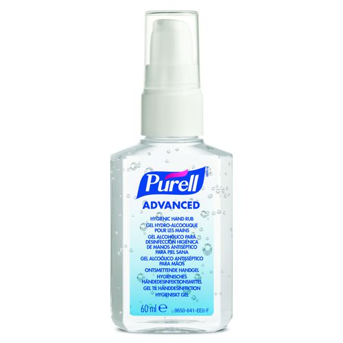 PURELL PERSONAL Advanced Hygienic Hand Rub Spray Pump 60ml (24) 9606-24-EEU0