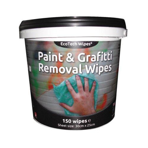 EcoTech Paint & Graffiti Wipes Tub (150)