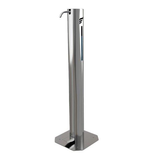 Astreea L Pedal Operated Sanitiser Dispenser 2 Litre Capacity Chrome