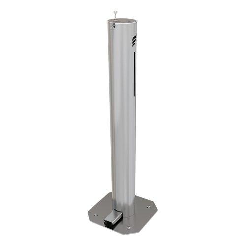 Astreea XL Pedal Operated Sanitiser Dispenser 3 Litre Capacity Chrome