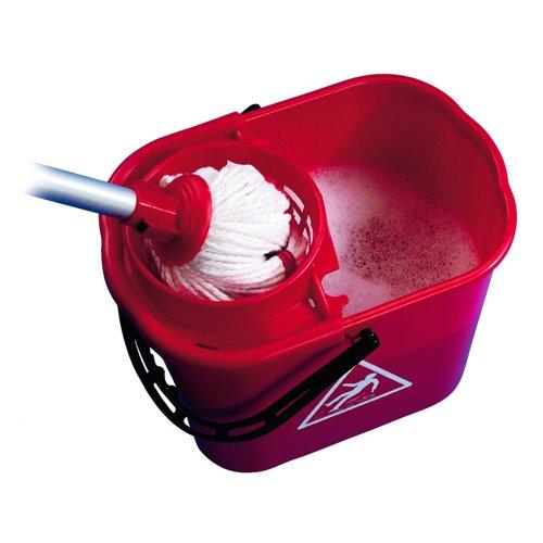 Mop Wringer Bucket 15litre Red SM15RD