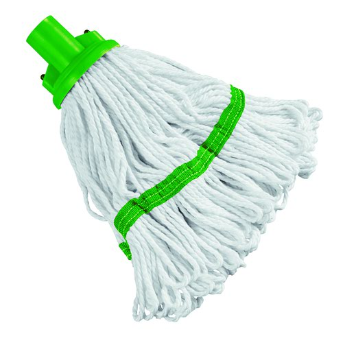 Hygiene Socket Mop Head Green SM200GREEN