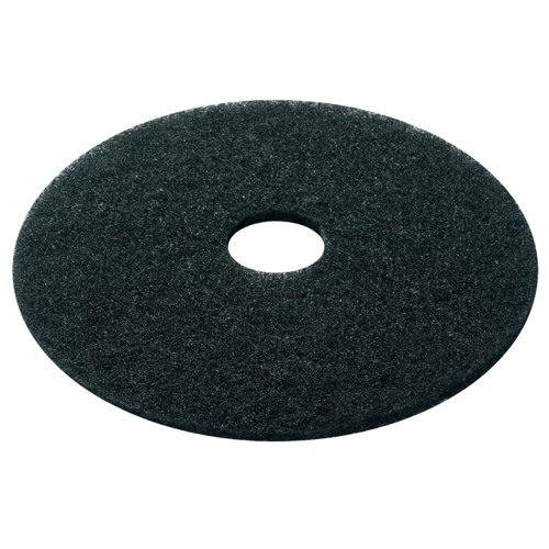 Floor Pads 17inch Black Stripping (5)