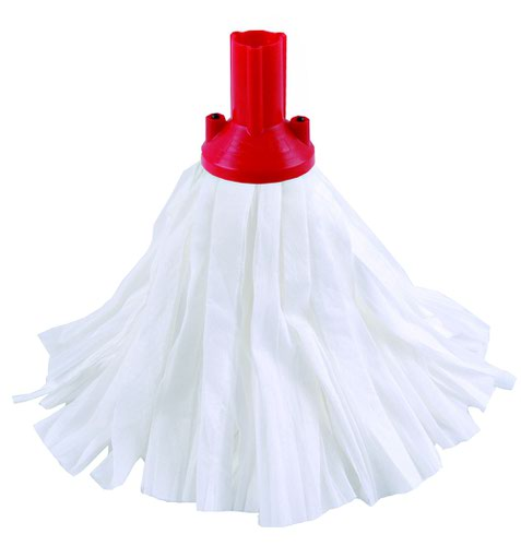 Exel Big White Mop Head Red (10) 102199RD