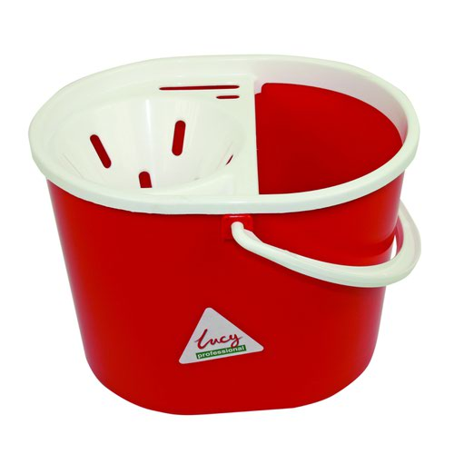 Lucy Mop Bucket 15 Litre Red L1405291