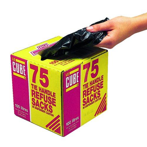 Le Cube Refuse Sacks 80 Litre (75)