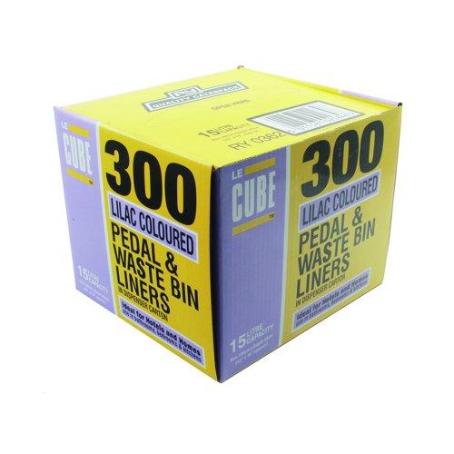 Le Cube Pedal Bin Liners 15 Litre (300)