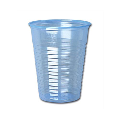 Non Vending Plastic Water Cups Blue 7oz (1000)