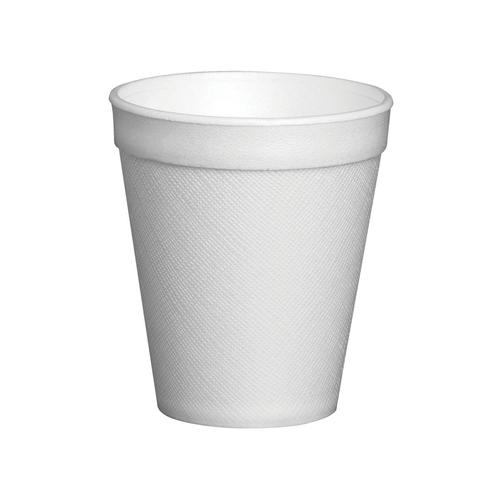 Foam Insulated Cup 7oz White (25)