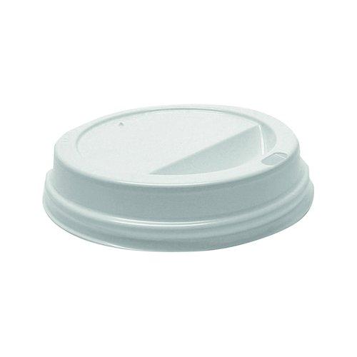 Hot Drink Cup Lids 35cl/12oz White (1000)