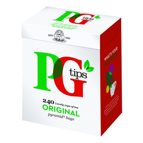 PG Tips Pyramid Tea Bags (240)