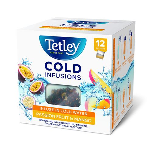 Tetley Cold Infusions Passionfruit & Mango (12)