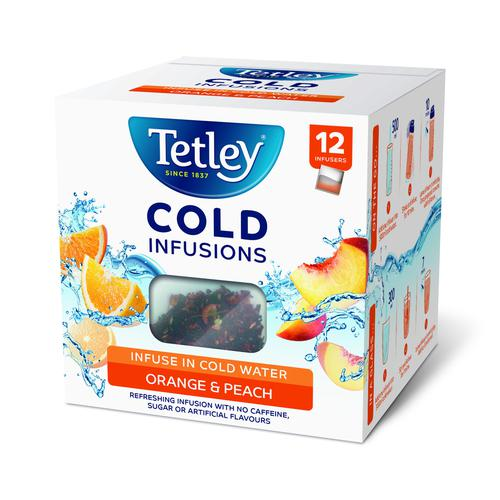 Tetley Cold Infusions Orange & Peach (12)