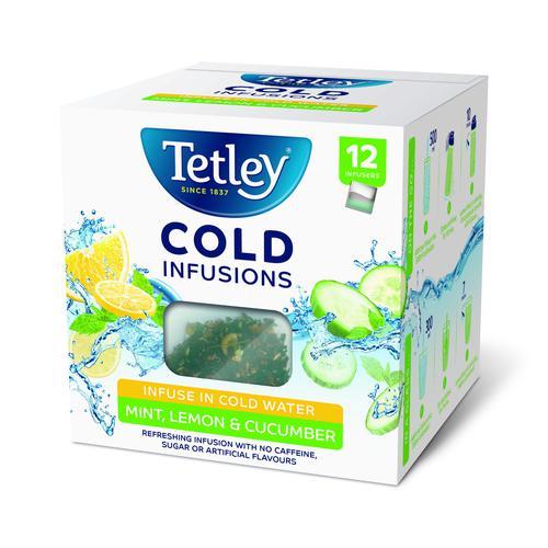 Tetley Cold Infusions Mint, Lemon & Cucumber (12)
