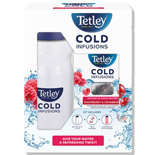 Tetley Cold Infusions Raspberry & Cranberry Starter Pack (12)