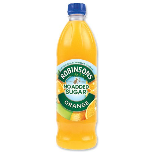 Robinsons No Added Sugar Special R Squash Orange 1 Litre (12)