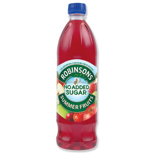 Robinsons No Added Sugar Special R Squash Summer Fruits 1 Litre (12) 4117