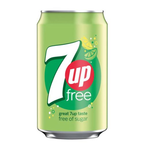 7Up Free Can 330ml (24)
