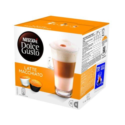 NESCAFE Dolce Gusto Latte Macchiato Capsule (3x16) 12019858