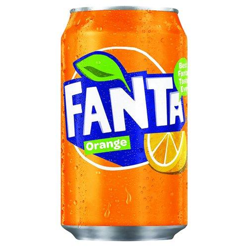 Fanta Can 330ml (24) 0402006