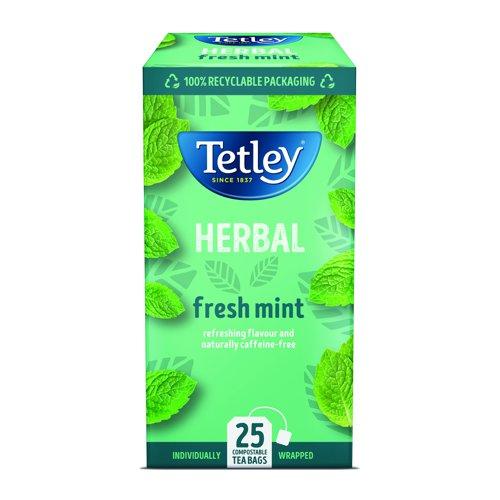 Tetley Mint Fusion Tea Bags (25)
