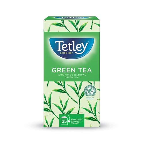 Tetley Pure Green Tea Bags (25)