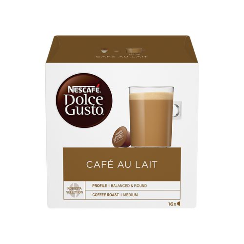 NESCAFE Dolce Gusto Cafe Au Lait Capsule (3x16) 12235939