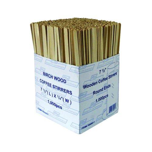 Wooden Drinks Stirrers (1000) 3842