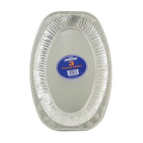 Caterpack Oval Foil Food Platter 430mm (3)