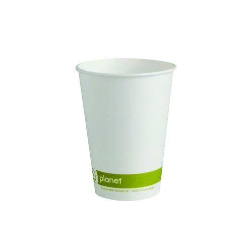 Planet Single Wall Disposable Cups 12oz (50) HHPLASW12