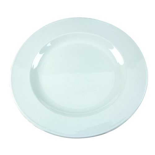 Porcelain Plate White 250mm (6) 304111
