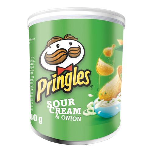 Pringles Sour Cream & Onion 40g (12) 7000279000