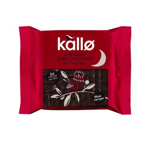 Kallo Dark Chocolate Rice Cake Thins (21)