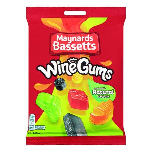 Maynards Bassetts Wine Gums Share Bags 165g (12)
